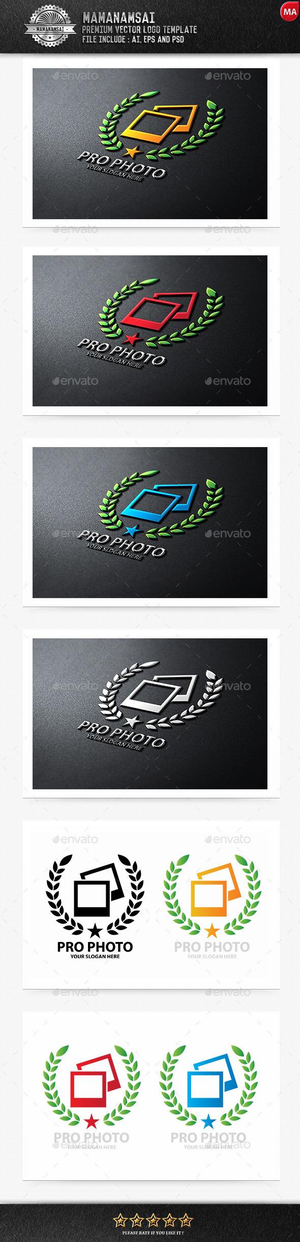 Pro Photo Logo - Logo Templates