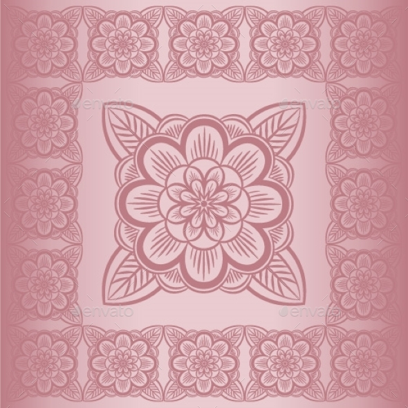 Floral Pattern - Decorative Symbols Decorative