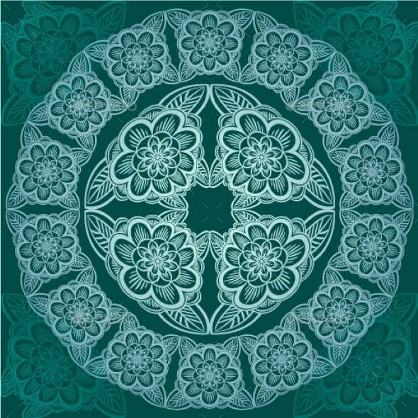 Floral Pattern - Decorative Symbols Decorative
