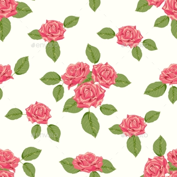 Roses Pattern - Flowers & Plants Nature