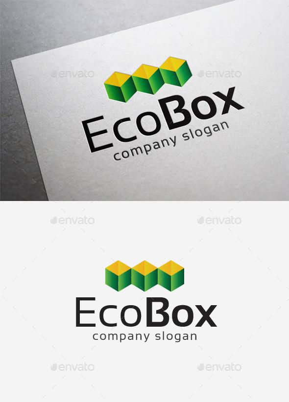 Eco Box Logo - Abstract Logo Templates