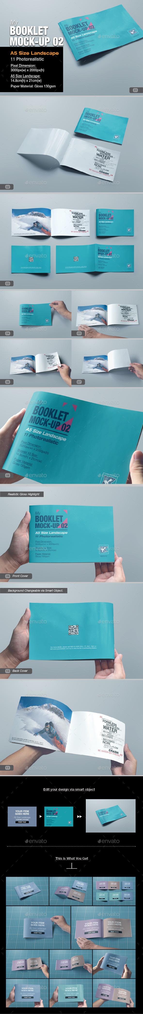 myBooklet Mock-up 02 - Print Product Mock-Ups