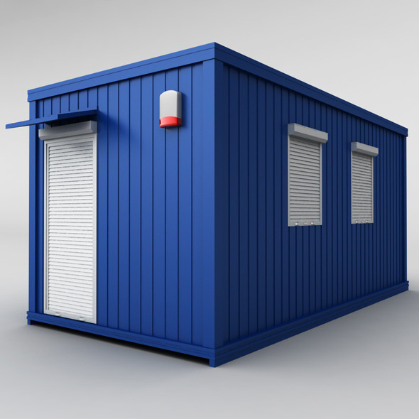 Container Housing - 3DOcean Item for Sale