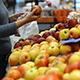 Putting Apples In Plastic Bag In Supermarket - VideoHive Item for Sale