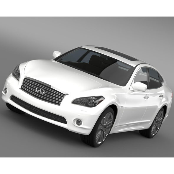 Infiniti M37 Y51 2013 - 3DOcean Item for Sale