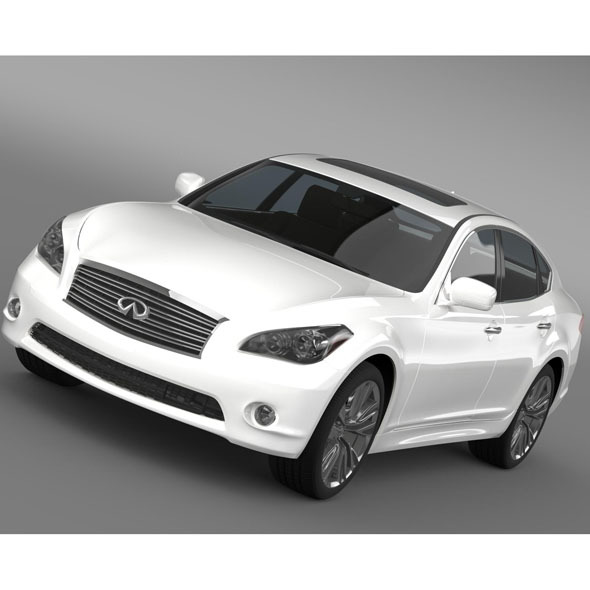 Infiniti M56 Y51 2013 - 3DOcean Item for Sale