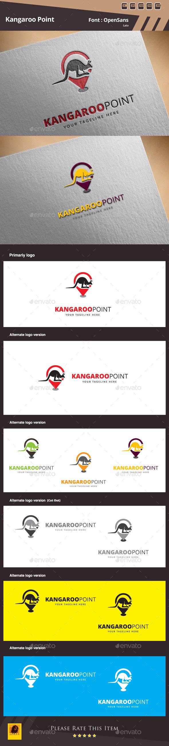 Kangaroo Point Logo Template - Animals Logo Templates