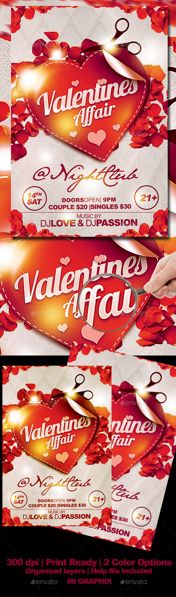 Valentines Affair - Clubs & Parties Events