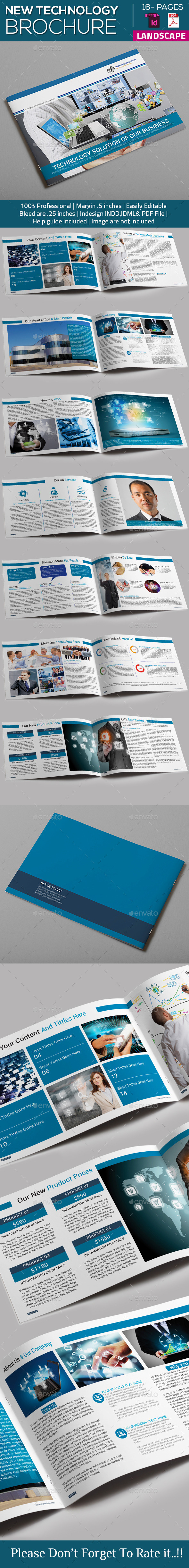 New Technology Brochure Catalog Templates - Catalogs Brochures