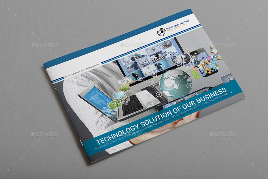 New Technology Brochure Catalog Templates By Al Mamun Graphicriver