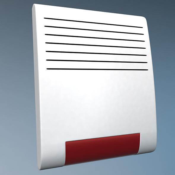 Wireless alarm beacon - 3DOcean Item for Sale