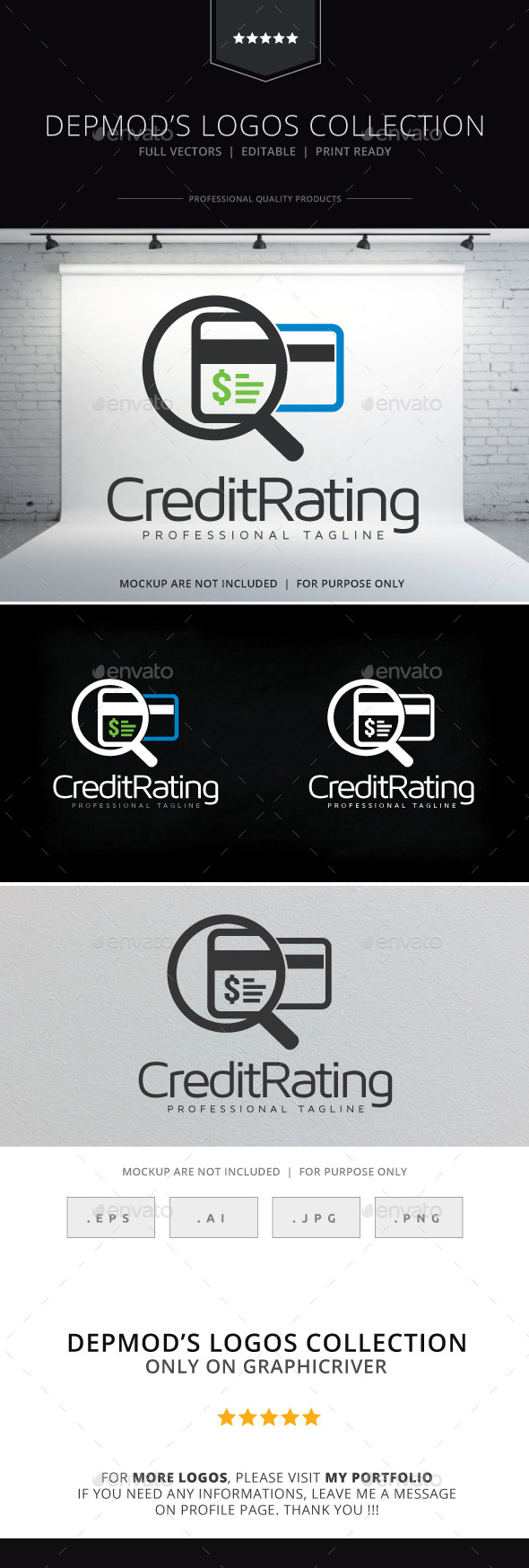 Credit Rating Logo - Objects Logo Templates