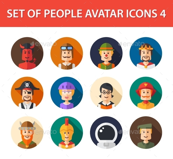 Avatars - People Characters