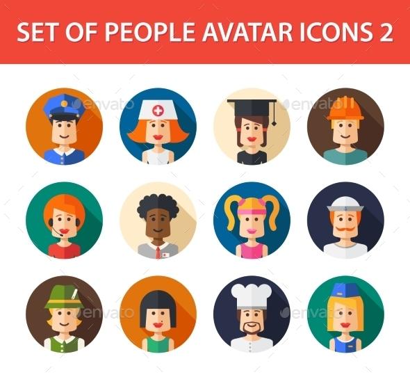 Avatars  - People Characters