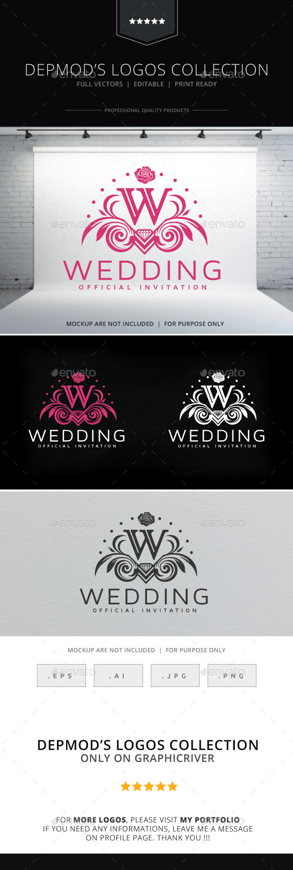 Wedding Logo - Crests Logo Templates