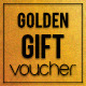 Multipurpose Golden Gift Voucher - GraphicRiver Item for Sale
