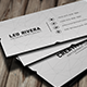 White Minimal Business Card - GraphicRiver Item for Sale