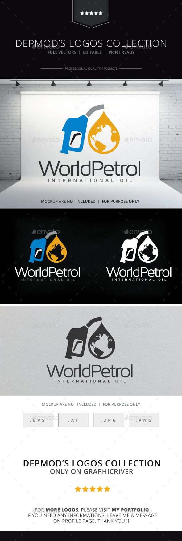 World Petrol Logo - Symbols Logo Templates