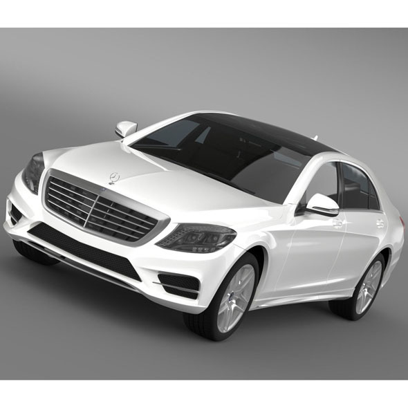 AMG Mercedes Benz S 500 W222 2013 - 3DOcean Item for Sale