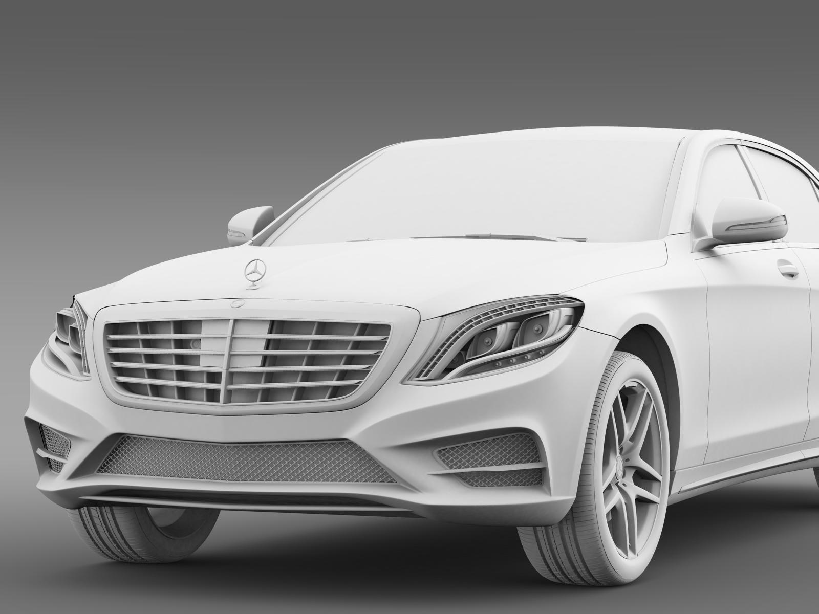 Amg mercedes benz s 500 w222 2013 by creator 3d 3docean for Mercedes benz creator