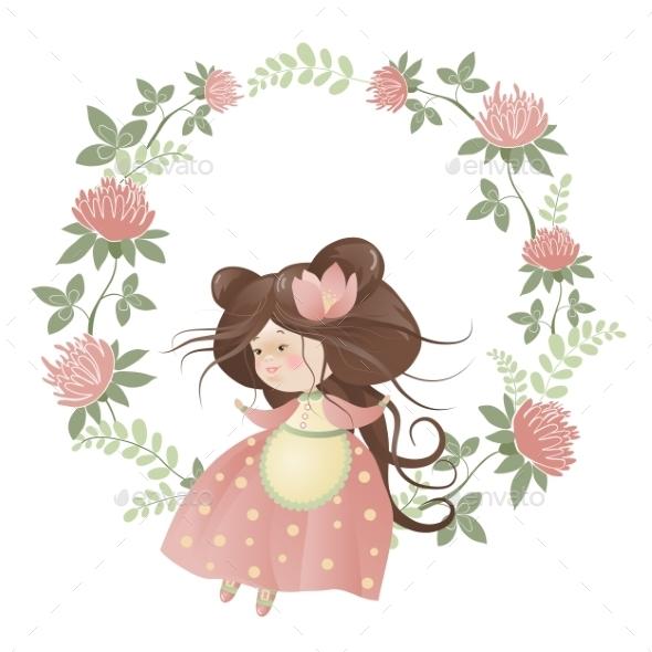 Flower Girl - People Characters