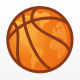Basketball World Logo Template