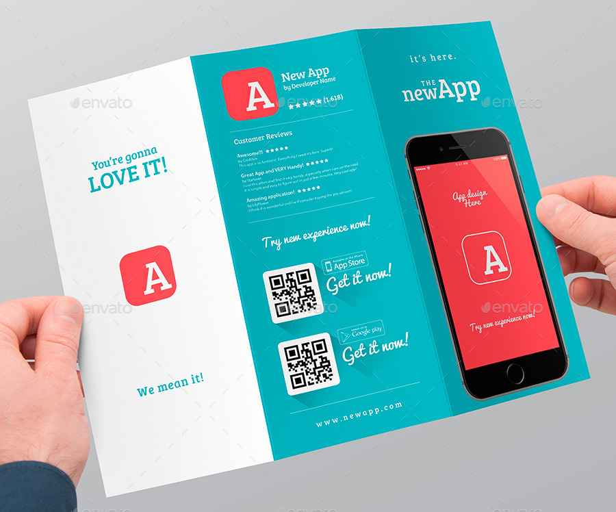 trifold brochures templates