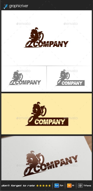Motocross Logo Templates - Objects Logo Templates