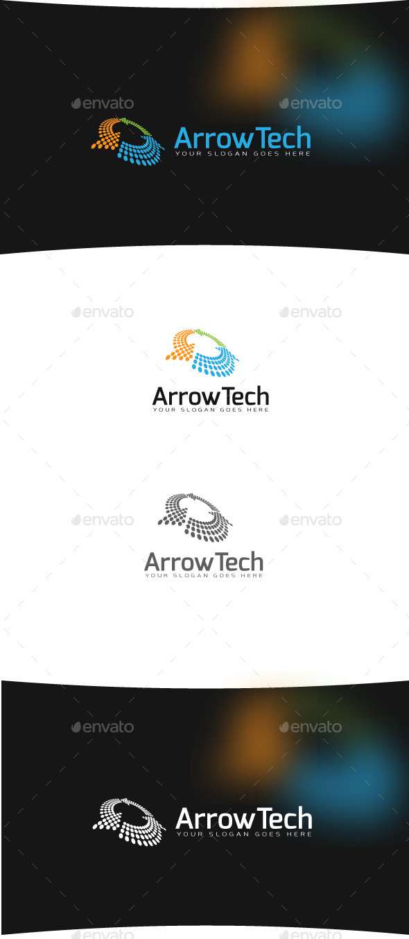 Dynamic Data Solutions - Abstract Logo Templates
