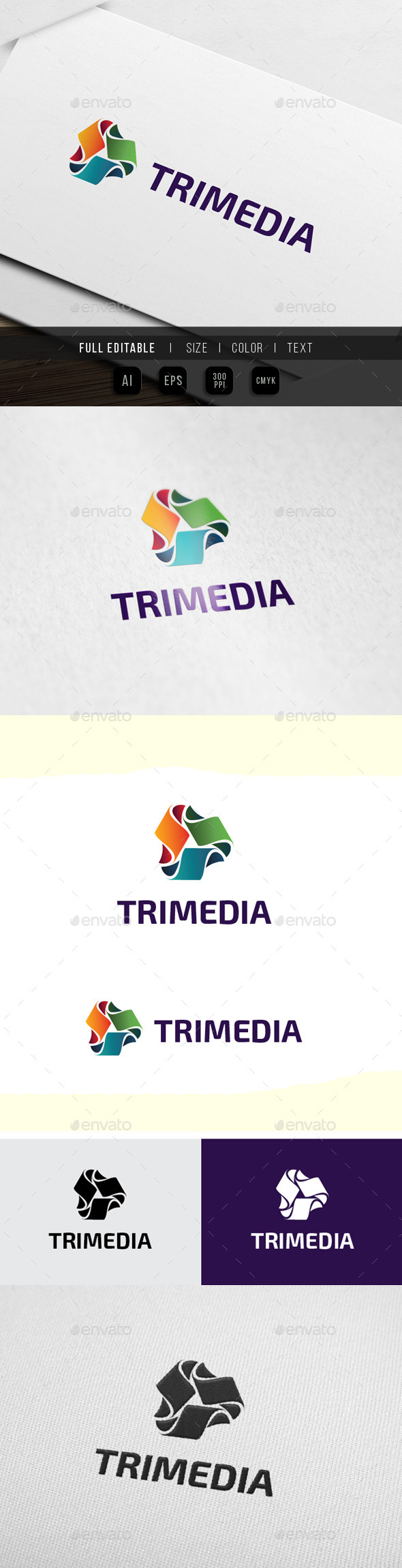 App Media - Technology Industry - Abstract Logo Templates