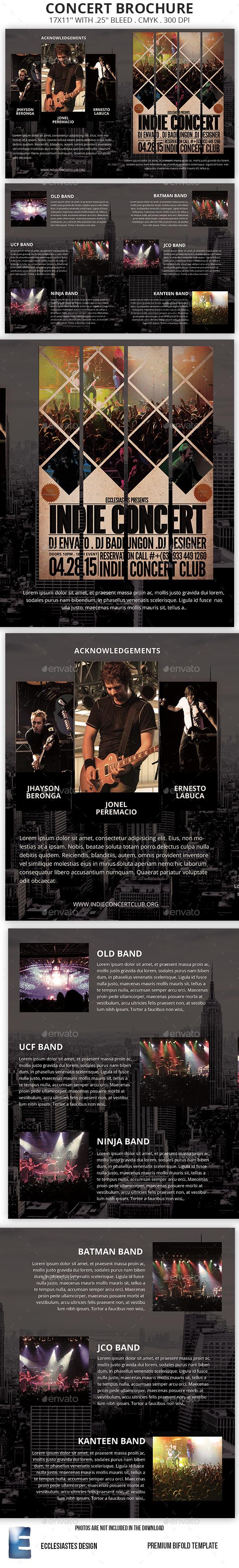 Concert Brochure - Informational Brochures