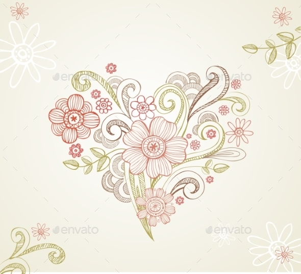 Greeting card for Wedding or Valentines Day  - Valentines Seasons/Holidays
