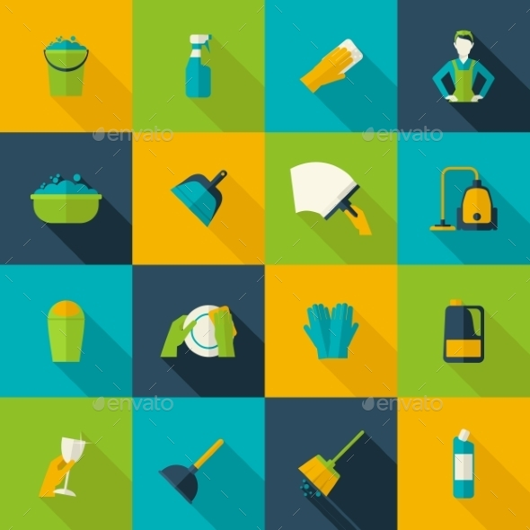 Cleaning Icon Flat - Miscellaneous Icons