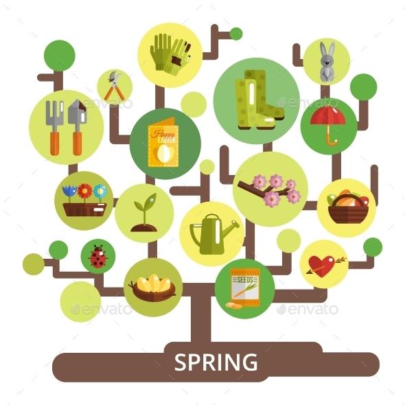 Spring Season Concept - Seasons Nature