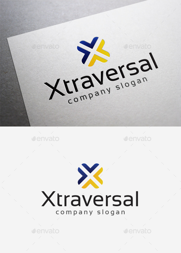 X Traversal Logo - Letters Logo Templates