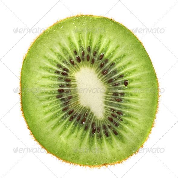 macro photo of kiwi - Stock Photo - Images