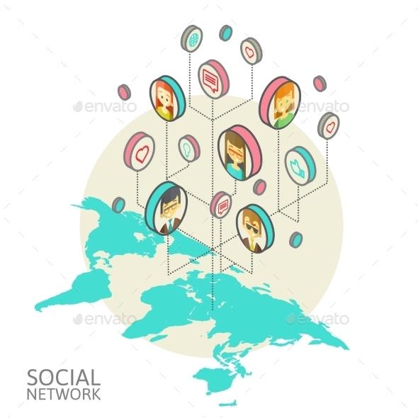 Social Networks - Technology Conceptual