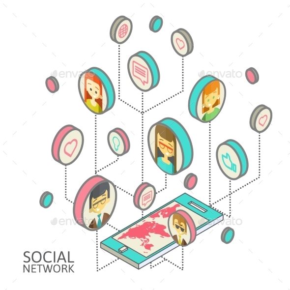 Social Network - Technology Conceptual