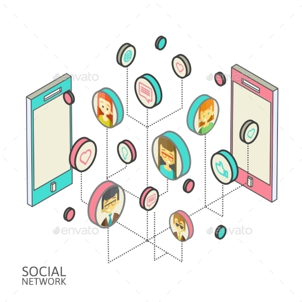 Social Networks - Technology Conceptual