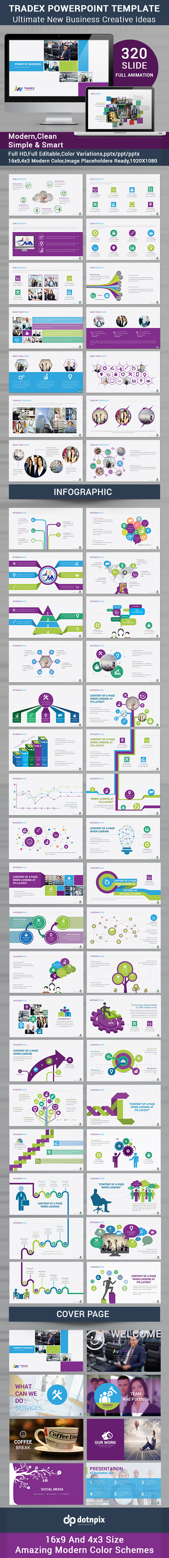 Tradex Powerpoint Template - Business PowerPoint Templates
