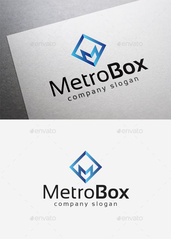 Metro Box Logo - Letters Logo Templates