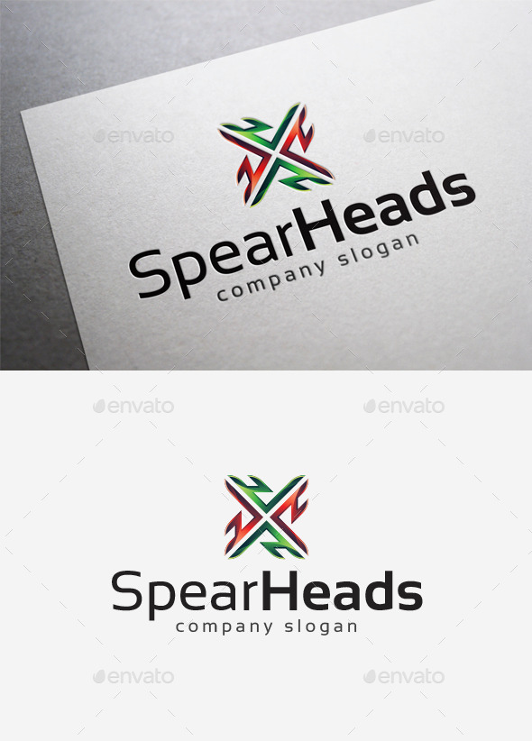 Spearheads Logo - Abstract Logo Templates