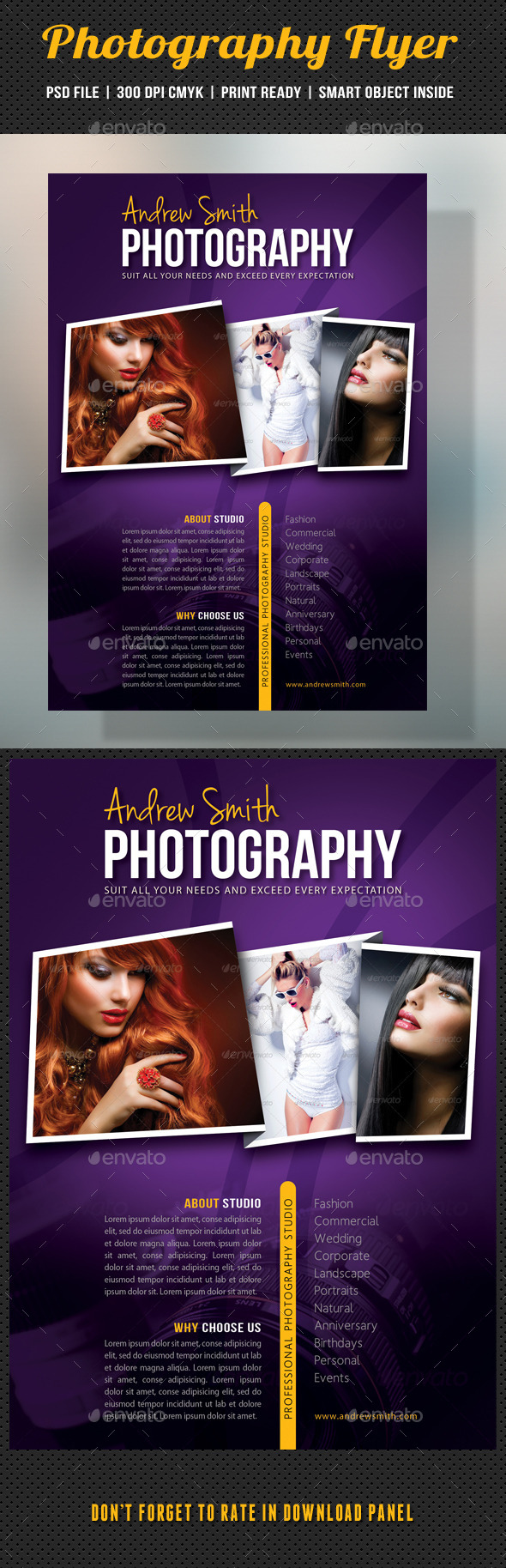 Photography Studio Flyer 13 - Corporate Flyers