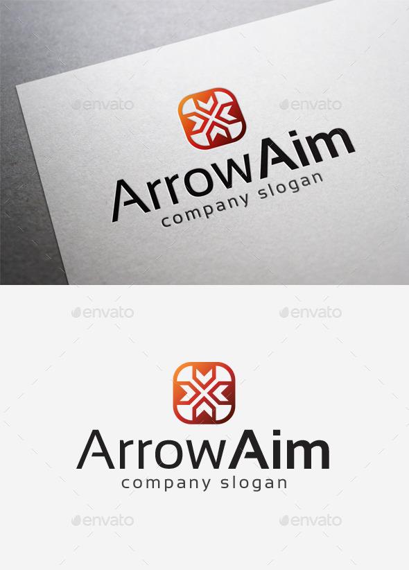Arrow Aim Logo - Abstract Logo Templates