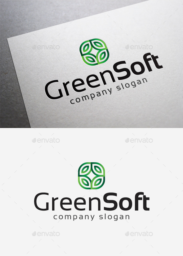 Green Soft Logo - Abstract Logo Templates