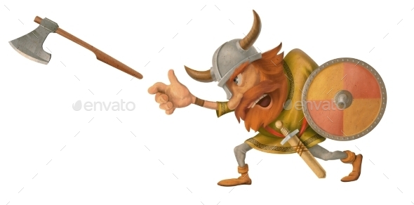 Viking - People Illustrations