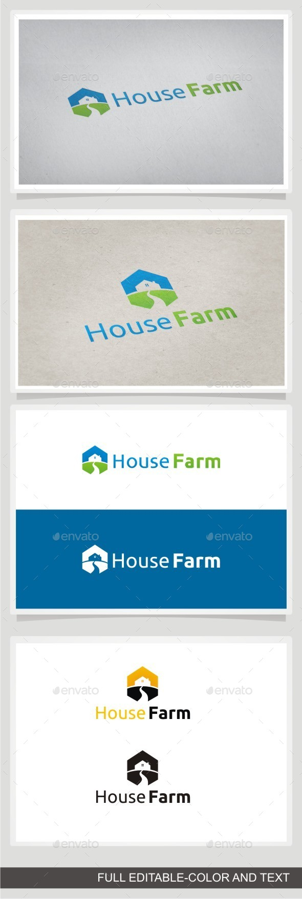 House Farm - Buildings Logo Templates