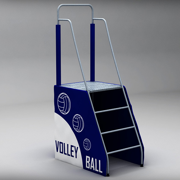 Referee stand - 3DOcean Item for Sale
