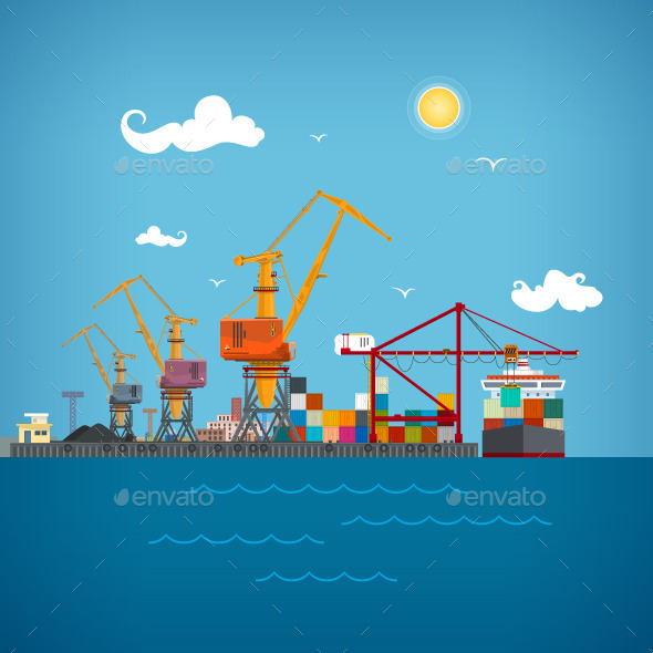 Cargo Seaport - Industries Business