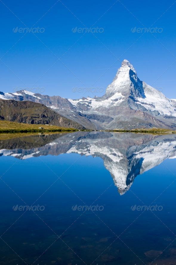 The famous Matterhorn - Stock Photo - Images